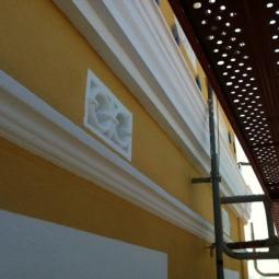 Restauración de elementos decorativos de la fachada