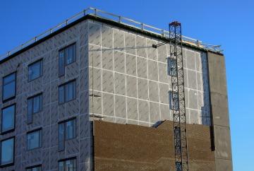 Capa de aislamiento térmico de un edificio